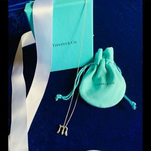 """Tiffany & Co. Authentic Letter """"M"""" pendent"""